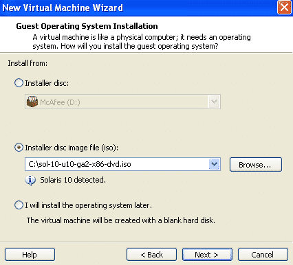 installer disk image solaris
