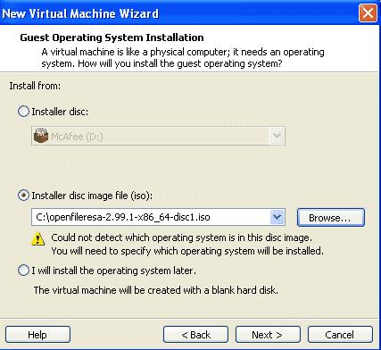 installer disk image
