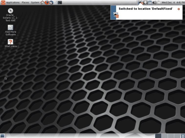Desktop GUI solaris 11
