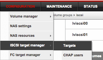 iscsi target manager open-e dss