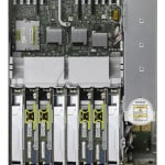 SPARC T4-2 top view