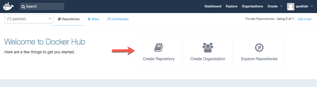 How to Create a Public/Private Repository in Docker Hub and