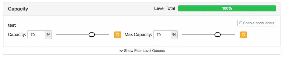 How to configure Capacity Scheduler Queues Using YARN Queue