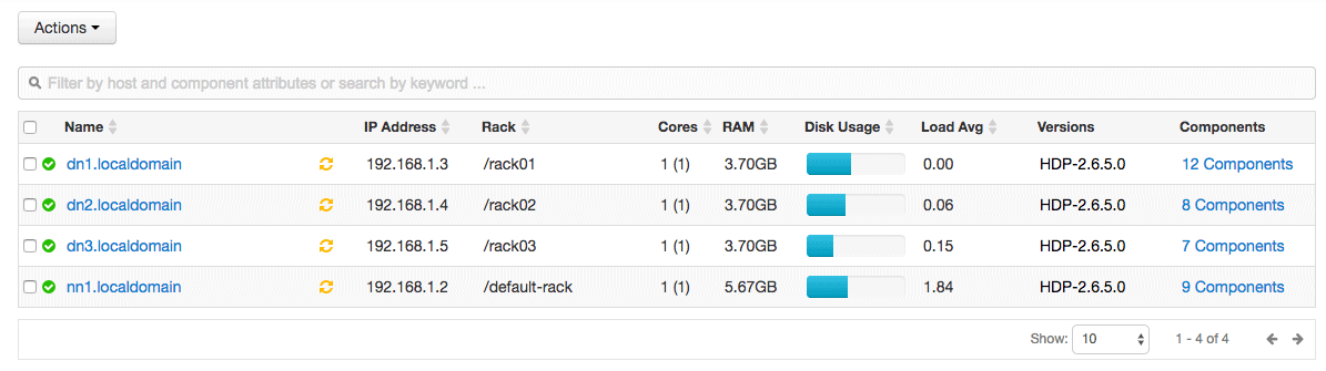 HDPCA Exam Objective – Define and deploy a rack topology