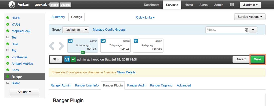 How to Configure Hive Authorization Using Apache Ranger