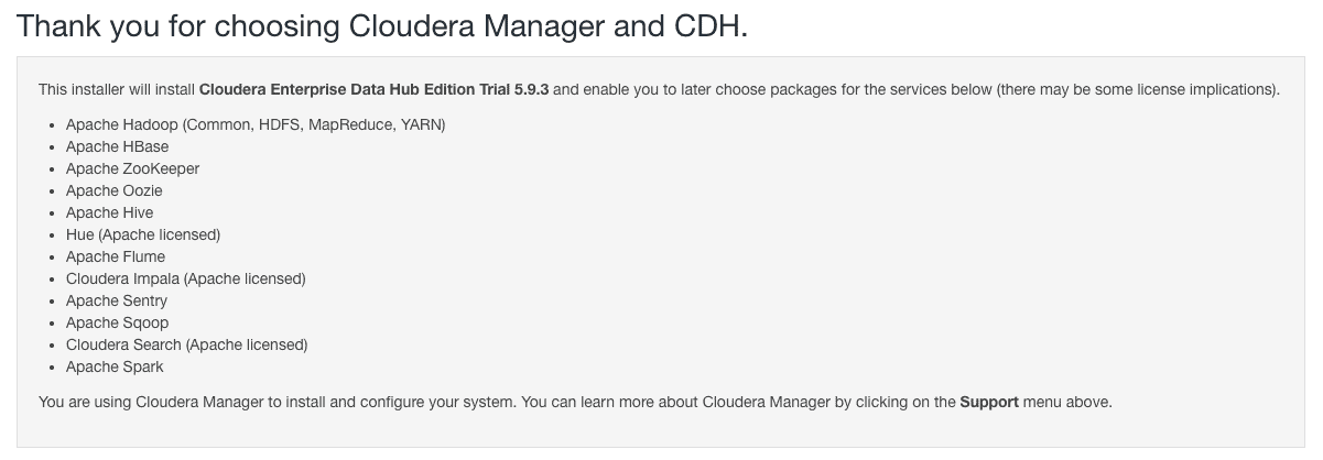 CCA 131 – Install CDH using Cloudera Manager – The Geek Diary