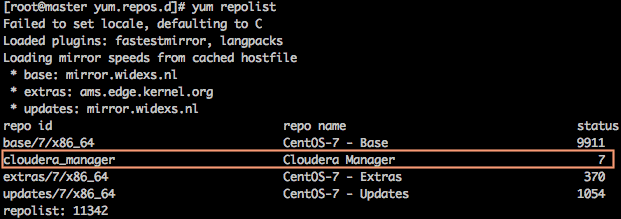 CCA 131 – Set up a local CDH repository – The Geek Diary