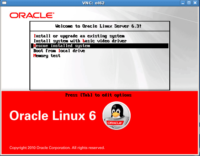How to Install Oracle Linux (UEK-2) with btrfs as a root